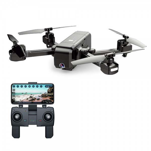 Drona SJRC Z5 GPS , Active Track, camera 1080p cu transmisie live pe telefon, brate pliabile 0