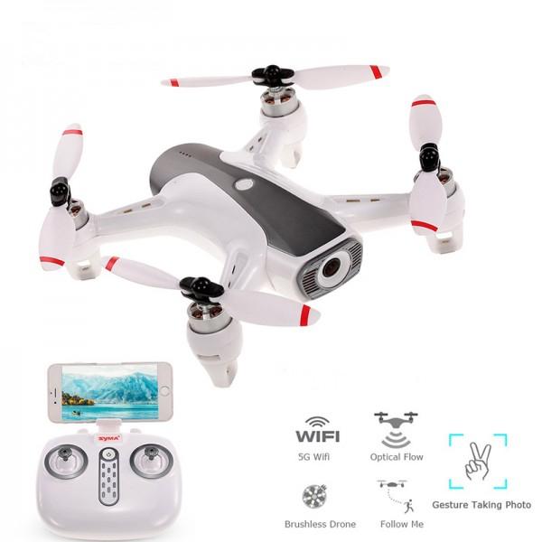 Drona Syma W1 Active Track, camera 1080p cu transmisie live pe telefon, motoare Brushless 0