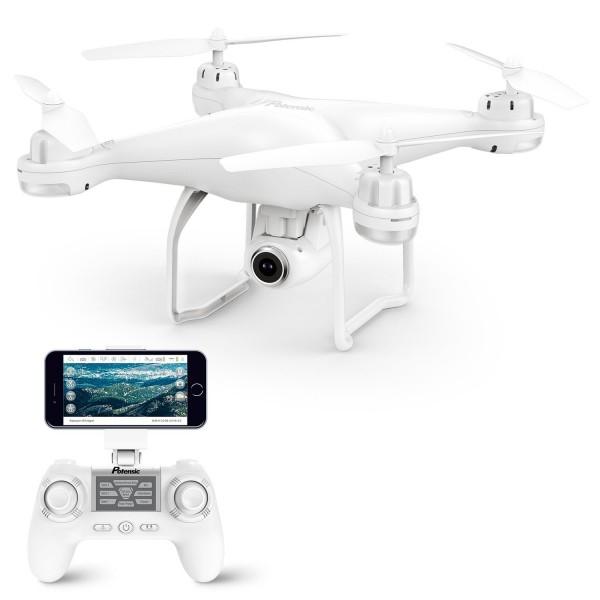 Drona SJRC S20W GPS , Folow Me, camera 1080p cu transmisie live pe telefon. 0