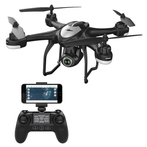 Drona SJRC S30W GPS , Folow Me, camera 1080p cu transmisie live pe telefon 0