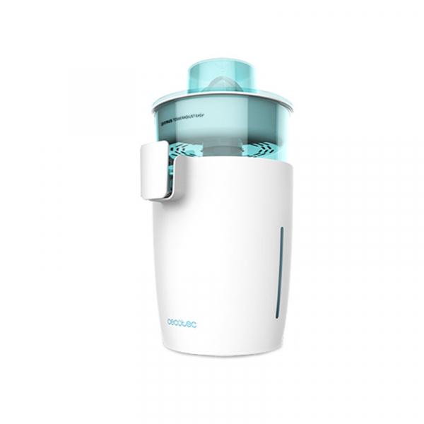 Storcator de citrice Cecotec Zitrus TowerAdjust Easy, 350W filtru pulpa reglabil, BPA free, Alb 0