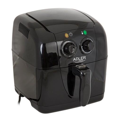 Friteuza Adler AD 6307 pentru prajit cartofi si delicatese, putere 1500W, capacitate 2L 0