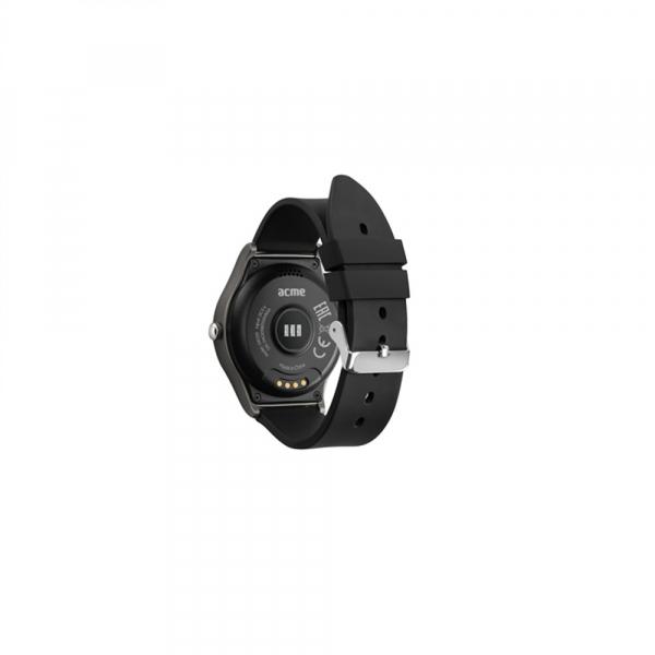 Ceas smartwatch Acme SW201, HR, Black [2]