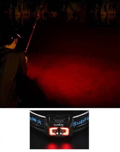 Lanterna LED pentru cap Supfire X30, USB, 500lm, 130m [4]