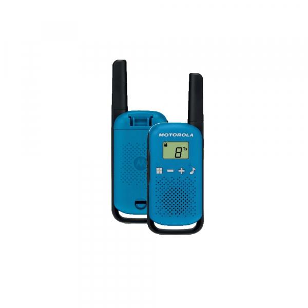Statie radio PMR portabila Motorola Talkabout T42 BLUE, set 2 buc 0