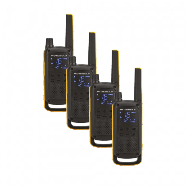 Statie radio PMR portabila Motorola TALKABOUT T82 Extreme Quad set, 4 buc 0