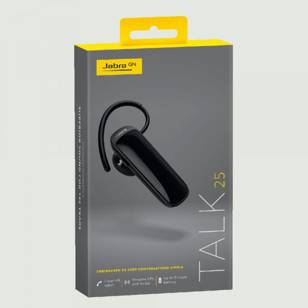 Casca Bluetooth Jabra Talk 25 Black 3