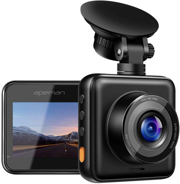 Camera auto DVR Apeman C420, Full HD, Unghi 170 grade G-Sensor, Mod parcare, Filmare in bucla 0