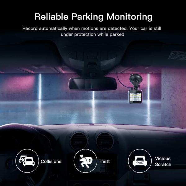 Camera auto DVR Apeman C420, Full HD, Unghi 170 grade G-Sensor, Mod parcare, Filmare in bucla 5