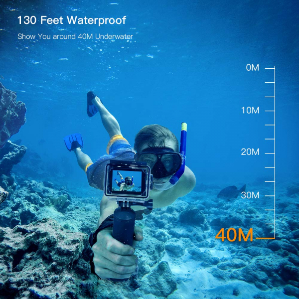Camera video sport Apeman A79, 4K, Wi-Fi, HDMI, Accesorii incluse, waterproof 40m, 2-inch, 2 Acumulatori, Telecomanda 5