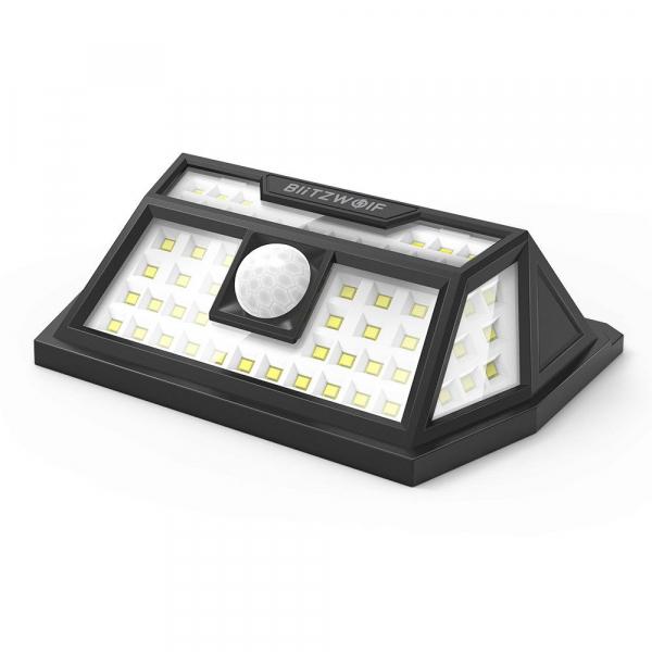 Lampa solara BlitzWolf BW-OLT1, LED, 62 leduri, incarcare solara si senzor de miscare [2]