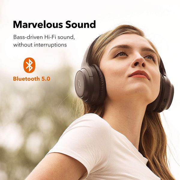 Casti audio TaoTronics TT-BH060, Noise canceling, Bluetooth 5.0, True Wireless - Resigilat [4]