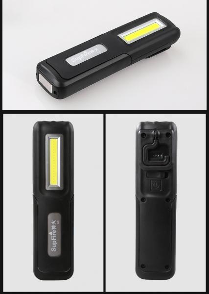 Lanterna LED Supfire G6, 140 lumeni, acumulator 1200 mAh, incarcare USB 2