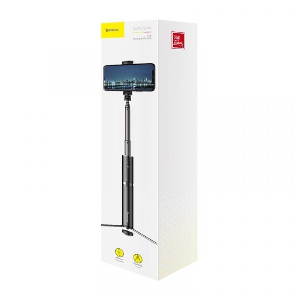 Selfie Stick Tripod Baseus 2 in 1 cu Telecomanda Bluetooth detasabila [5]