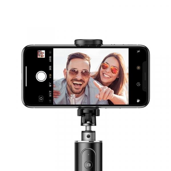 Selfie Stick Tripod Baseus 2 in 1 cu Telecomanda Bluetooth detasabila [7]