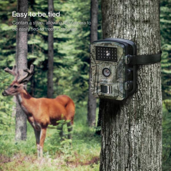 """Camera de vanatoare Apeman H45 senzor de miscare , 16 MP, full HD, 2.4"""" LCD , 940nm, night vision , 26 senzori infrarosu [6]"""