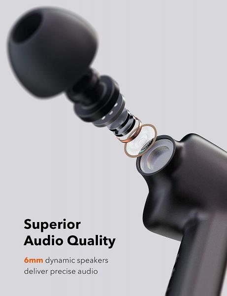 Casti audio In-Ear Taotronics TT-BH53 SoundLiberty , True Wireless, Bluetooth 5.0, TWS 5