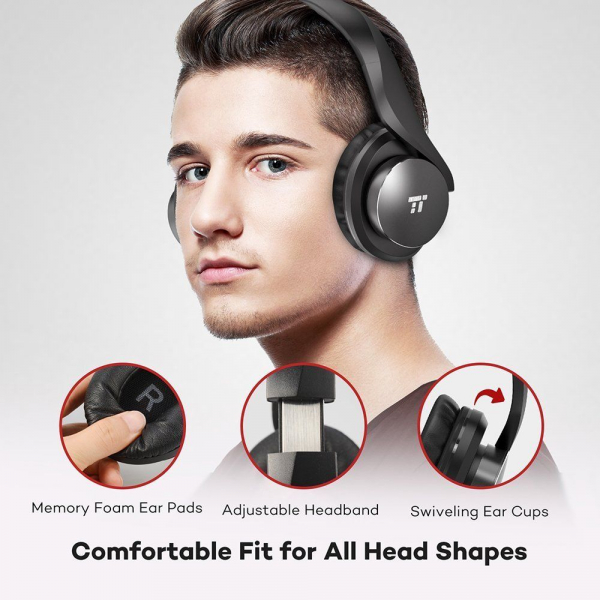 Casti audio TaoTronics TT-BH021, Noise canceling, True Wireless 2