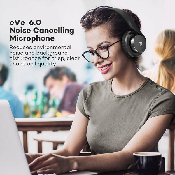 Casti audio TaoTronics TT-BH021, Noise canceling, True Wireless 5