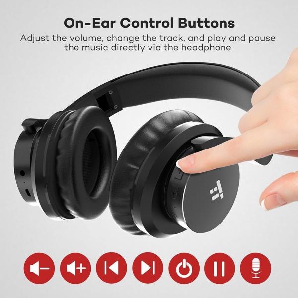 Casti audio TaoTronics TT-BH021, Noise canceling, True Wireless 6