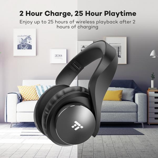 Casti audio TaoTronics TT-BH021, Noise canceling, True Wireless 7