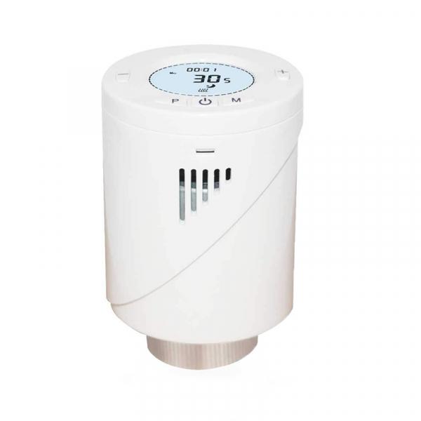 Kit Cap termostatic calorifer Meross MTS100H cu Hub, Smart, Alexa, Google Home, control smartphone 10