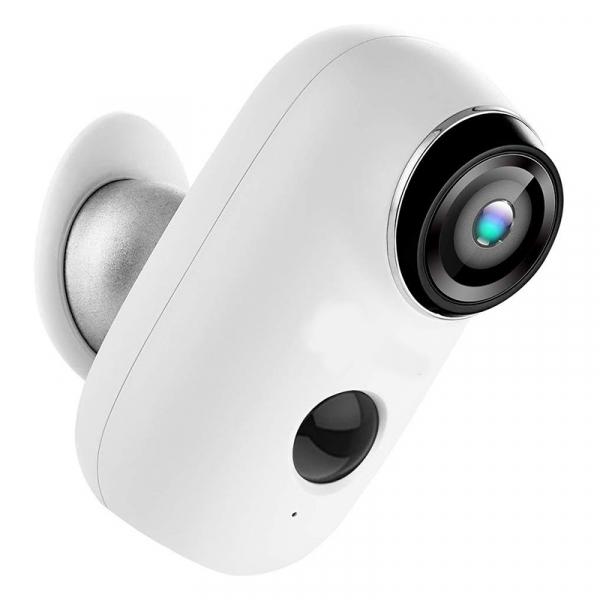 Kit Camera supraveghere de exterior WIFI HeimVision HMD2 cu panou solar  HMS1, 1080P cu nightvision, senzor miscare, notificare miscare, acumulator, audio bidirectional, WiFi, slot microSD card 8