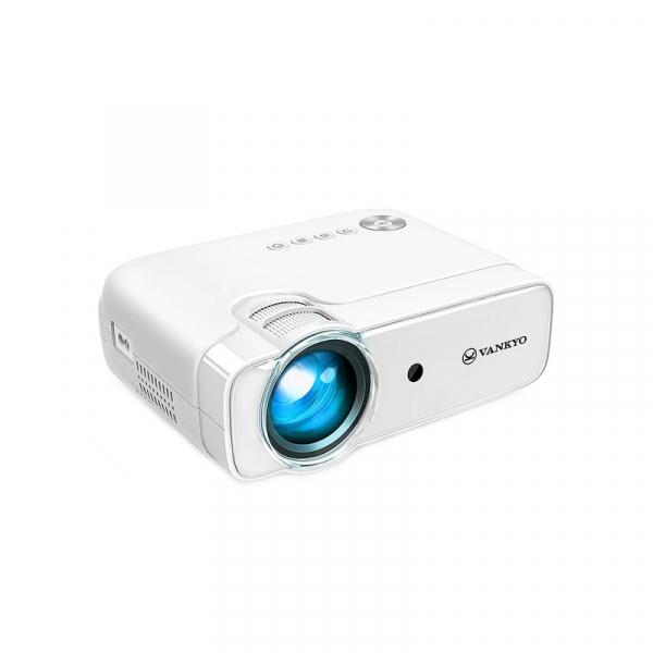 Videoproiector Vankyo  Leisure 430, 4000 Lumeni, LED, HDMI, SD, AV, VGA, USB, Geanta de transport, Telecomanda, Cablu HDMI 7