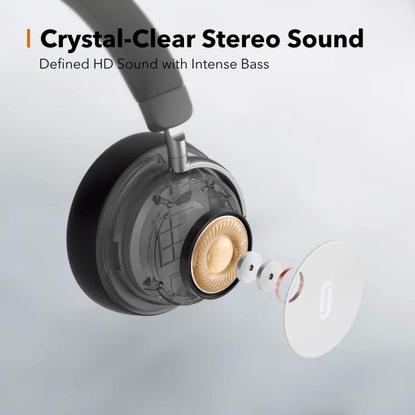 Casti audio TaoTronics TT-BH046, Hybrid Noise canceling, Bluetooth 5.0, True Wireless, cVc 6.0, Bas puternic si clar - Resigilat 2