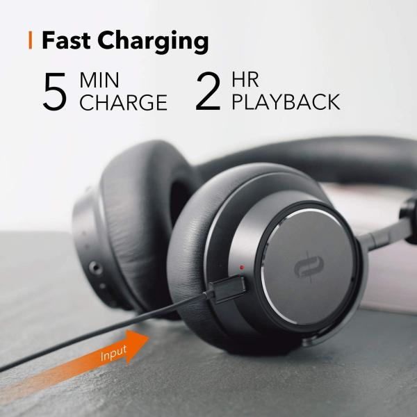 Casti audio TaoTronics TT-BH046, Hybrid Noise canceling, Bluetooth 5.0, True Wireless, cVc 6.0, Bas puternic si clar - Resigilat 4