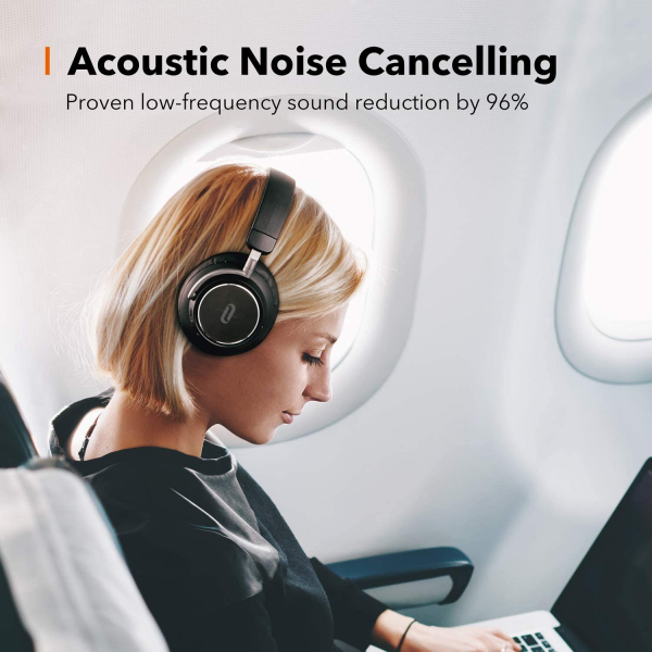 Casti audio TaoTronics TT-BH046, Hybrid Active Noise canceling, Bluetooth 5.0, True Wireless, cVc 6.0, Bas puternic si clar 5