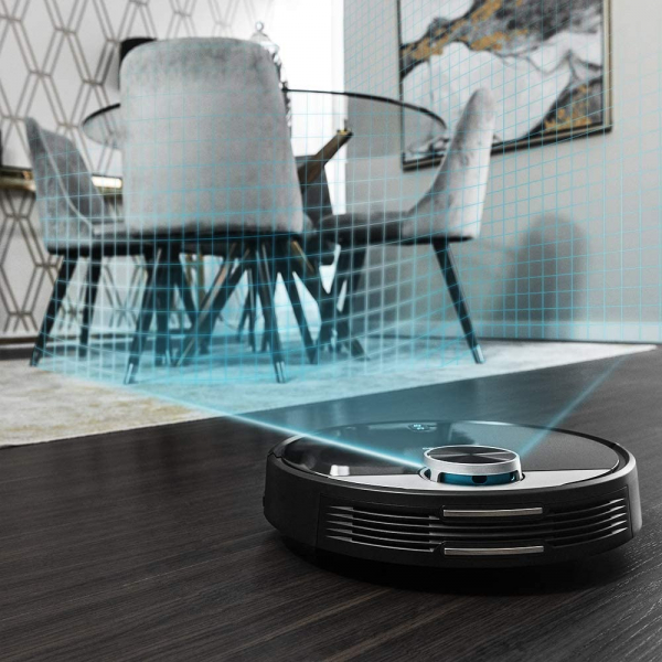 Robot de aspirare Cecotec Conga 3390, 4 in 1, 2300 Pa, Laser, Autonomie 150 minute, Rezervor lichide si praf, Functie mop, 2 perii centrale - Resigilat [3]