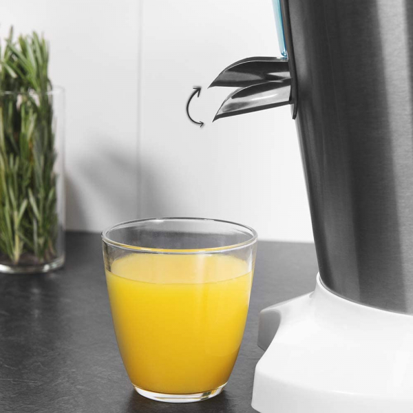 Storcator de citrice Cecotec Zitrus PowerAdjust 600, 600w, Anti picurare, 2 conuri, filtru reglabil 1