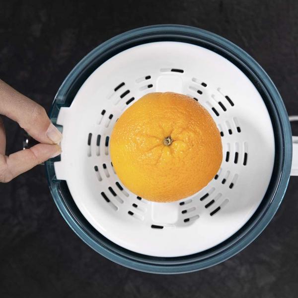 Storcator de citrice Cecotec Zitrus PowerAdjust 600, 600w, Anti picurare, 2 conuri, filtru reglabil 3
