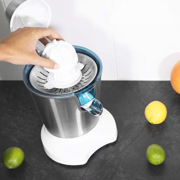 Storcator de citrice Cecotec Zitrus PowerAdjust 600, 600w, Anti picurare, 2 conuri, filtru reglabil 4