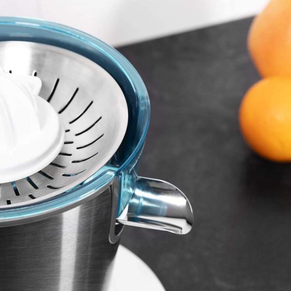Storcator de citrice Cecotec Zitrus PowerAdjust 600, 600w, Anti picurare, 2 conuri, filtru reglabil 5