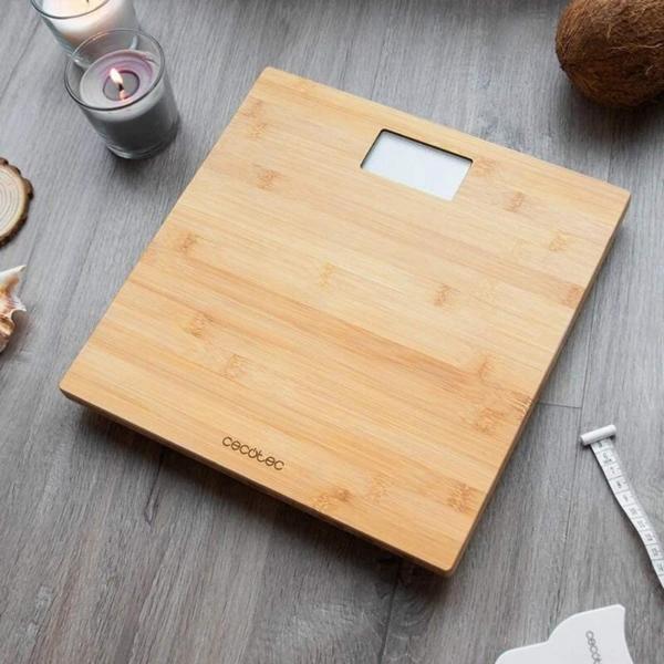 Cantar corporal Cecotec Surface Precision 9300, Lemn de Bambus, Eco-friendly [1]