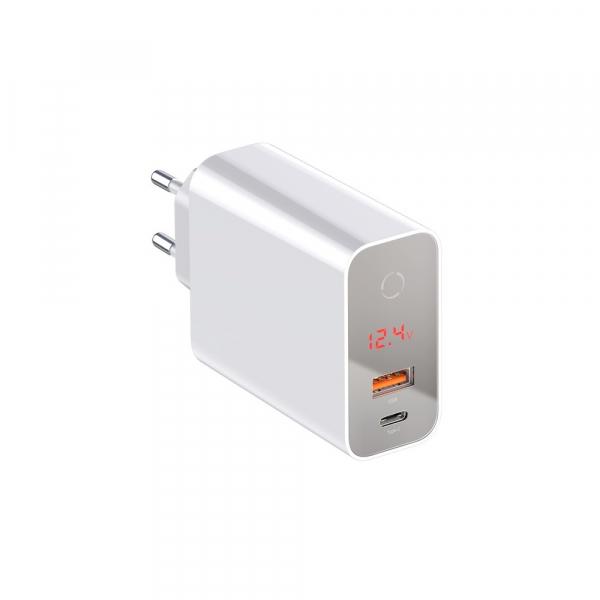 Baseus Incarcatorperete PPS QC USB + PD 45W 5