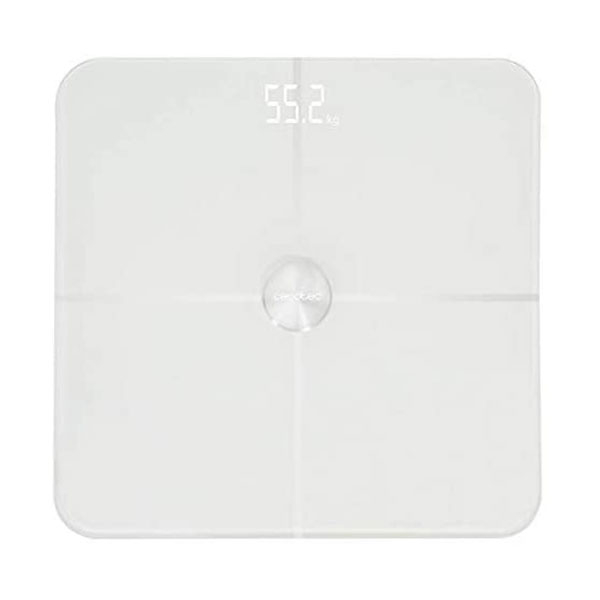 Cantar corporal Smart Cecotec Surface Precision 9600, Display LED, 10 valori masurate, BMI, Alb [0]