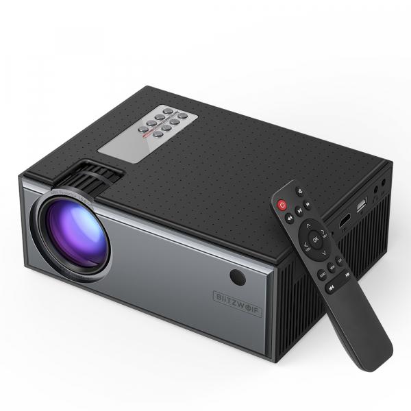 Videoproiector BlitzWolf BW-VP1, 2800 Lumens, Native 720p, LED, HDMI, VGA, AV, USB 0