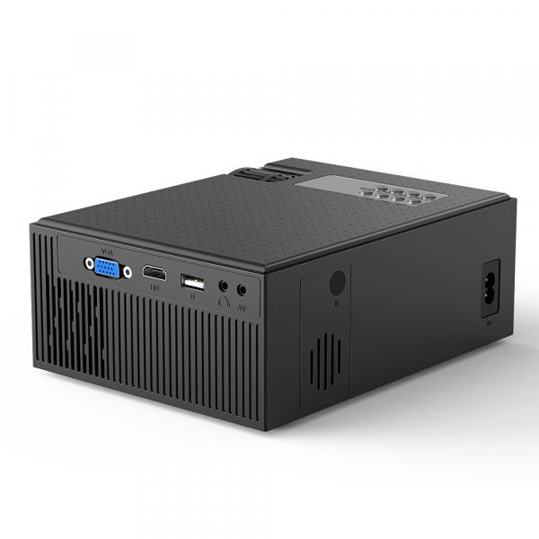 Videoproiector BlitzWolf BW-VP1, 2800 Lumens, Native 720p, LED, HDMI, VGA, AV, USB 2