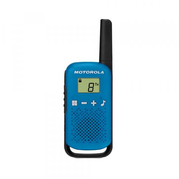 Statie radio PMR portabila Motorola Talkabout T42 BLUE, set 2 buc 1