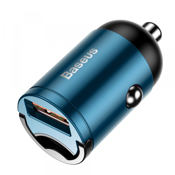 Incarcator Auto Baseus, Tiny Star Mini, Quick Charge 3.0, Albastru 1