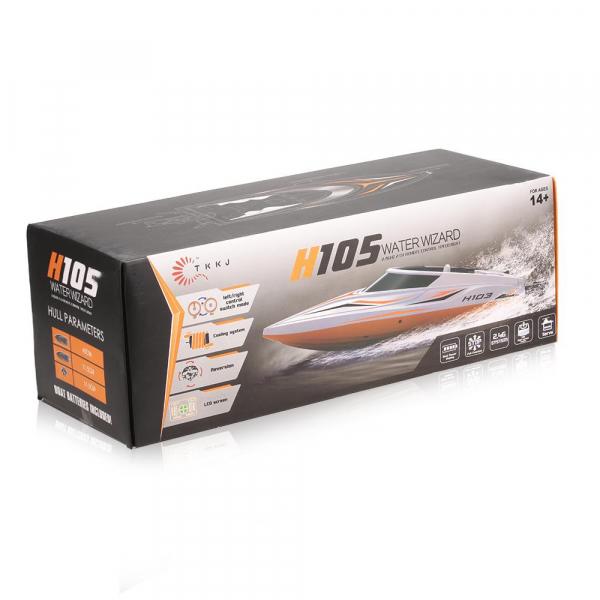 Barcuta RC cu telecomanda TKKJ H105 de viteza mare, 30 km/h [2]