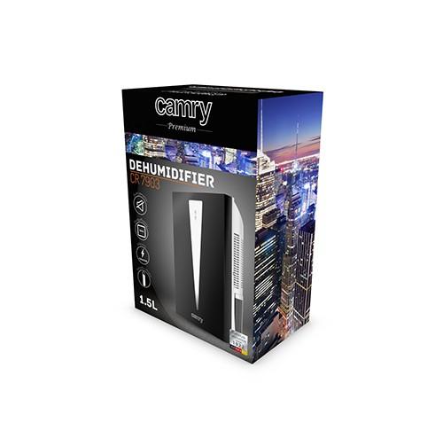 Dezumidificator Camry CR 7903, capacitate rezervor 1.5L, 100W, 750ml/24h 2