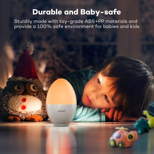 Lampa de veghe VAVA LED cu reglare touch a Intensitatii, lumina calda si rece 1