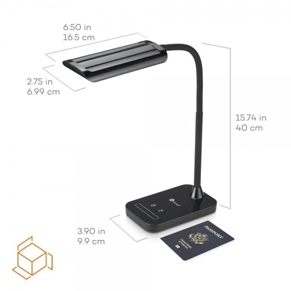 Lampa de birou LED TaoTronics TT-DL11 control Touch, 5 moduri, protectie ochi, 7W 1