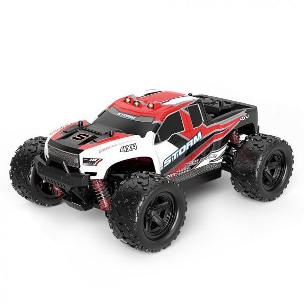 Masina cu Telecomanda Linxtech HS18301 Monster Truck de mare viteza, Off-Road Racing Tractiune 4X4, 36Km/h Scala 1:18 1