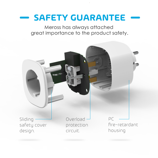 Priza Smart Meross MSS210 WiFi 2