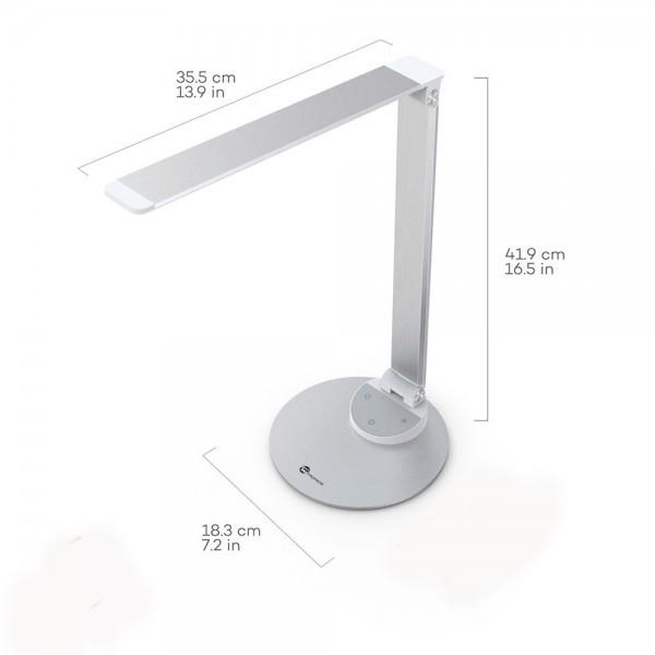 Lampa de birou LED TaoTronics TT-DL19 control Touch, 5 moduri, protectie ochi, USB [2]